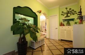 欧式田园风格小户型客厅装修图片