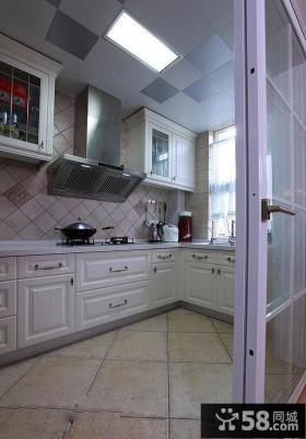 欧式厨房集成吊顶装修效果图片