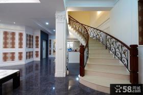 现代别墅室内楼梯装修图片