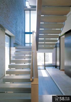 复式房楼梯装修效果