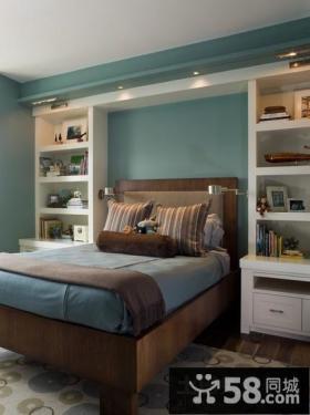 欧式家居装修卧室图片