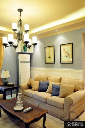 客厅沙发装饰画图片欣赏