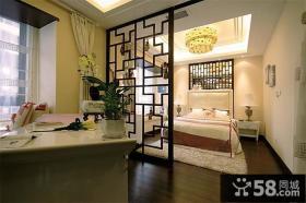 古典中式三居室家居设计装修效果图