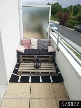 时尚北欧家居阳台设计