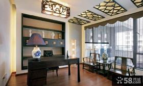 新古典中式书房设计