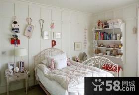清新唯美的简约风格儿童房装修效果图