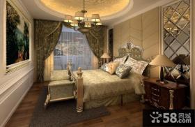 欧式别墅主卧室装修效果图大全2012图片 卧室吊顶装修效果图