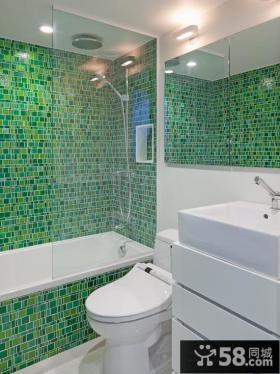 3平米小卫生间瓷砖效果图