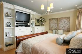 欧式小卧室装修设计图大全