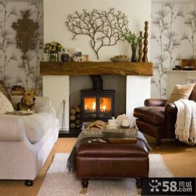 美式风格装饰客厅图大全