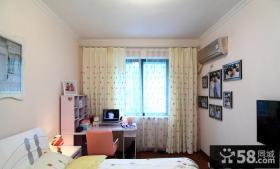 地中海两房小户型室内装修效果图