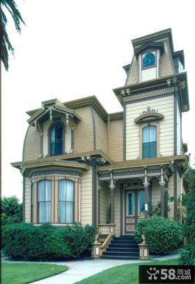 三层欧式别墅外观设计效果图