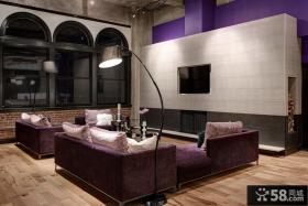家庭装修客厅电视背景墙图片大全欣赏