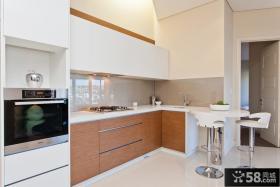 现代4平米开放式厨房设计