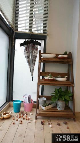 美式风格室内设计阳台图片