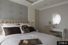新古典风格卧室家具摆放