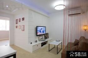 现代风格客厅电视背景墙家庭装修效果图