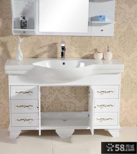 法恩莎卫浴欧式浴室柜效果图