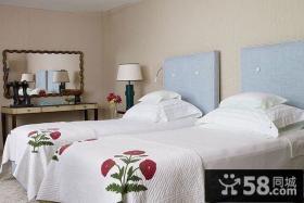 瑞典北欧风格复式楼卧室装修效果图大全2012图片