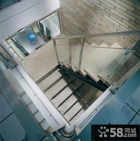 现代小复式楼梯室内装修图片