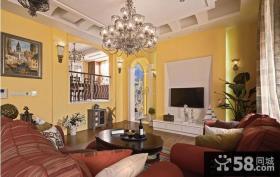房子装饰客厅电视背景墙装修效果图