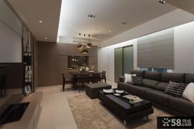 现代简约两居室设计效果图