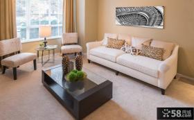 优质简约客厅装饰画图片