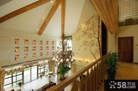 别墅室内吊顶装修效果图