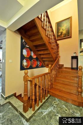 家居实木楼梯装修