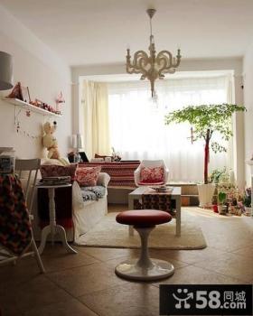 北欧风格小户型卧室装修效果图大全2012图片