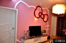 小客厅电视背景墙装修效果图大全2012