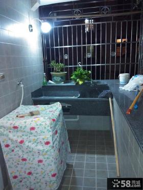 简约家居阳台洗衣房装修图片