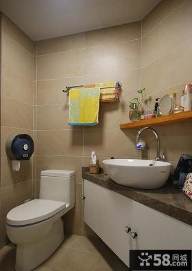 美式室内家装三居室设计效果图