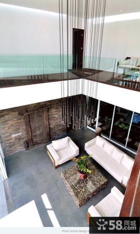 140万打造200平米简约风格客厅家居装修设计