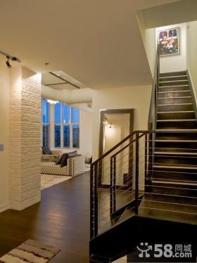 上海复式房装修楼梯效果图