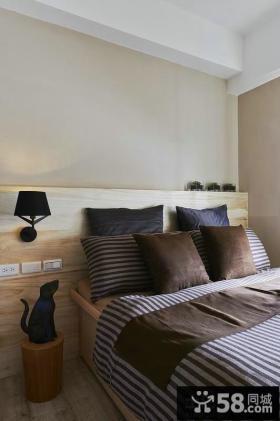 现代风格小卧室床头灯具设计效果图
