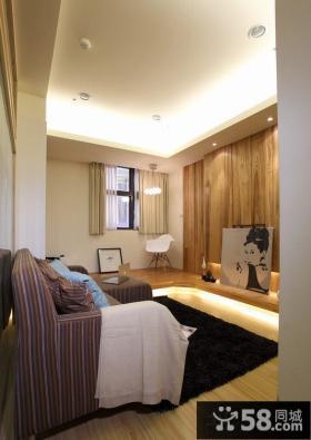 小户型日式客厅装修图片欣赏