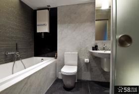 80平米小户型厕所装修效果图