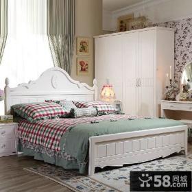 简欧式卧室家具摆放图片