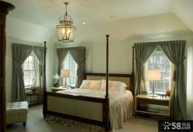 欧式家居卧室装修效果图