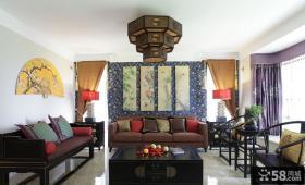 中式古典风格别墅装饰效果图