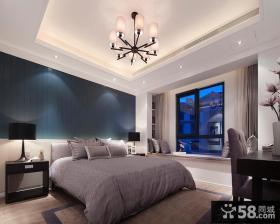 现代简约风格三室两厅卧室装修图片