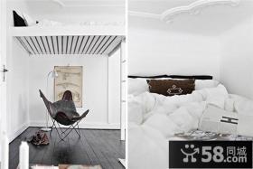 30平超小户型简约客厅装修效果图欣赏