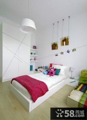 10平米简约吊顶儿童房装修设计效果图