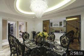 豪华大气欧式复式家居装潢