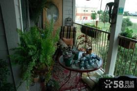 家装阳台花园设计效果图