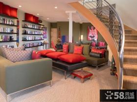 客厅装修效果图 小复式客厅装修效果图