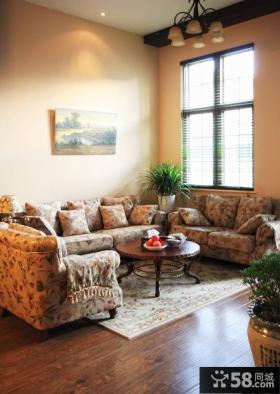 田园风小户型沙发效果图欣赏