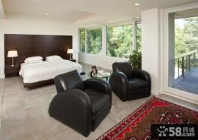 现代风格装修效果图 2012卧室装修