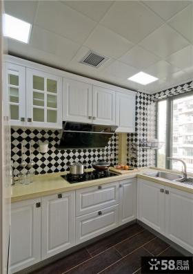 地中海简约风格厨房设计效果图片